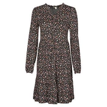 material Women Short Dresses Esprit CVE Black