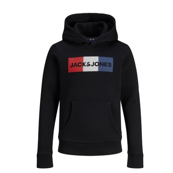 material Boy sweaters Jack & Jones JJECORP LOGO PLAY SWEAT Black