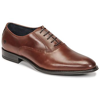 Shoes Men Brogue shoes Carlington OLILO Cognac