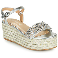 Shoes Women Sandals Café Noir SAMIA Silver