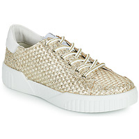 Shoes Women Low top trainers Café Noir JANISA White / Gold
