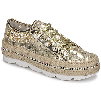 Shoes Women Low top trainers Café Noir KINITA Gold