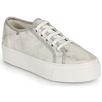 Shoes Women Low top trainers Yurban SUPERTELA Silver