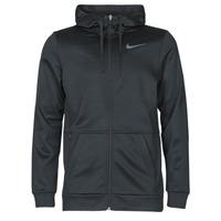 material Men sweaters Nike TF HD FZ Black / Grey