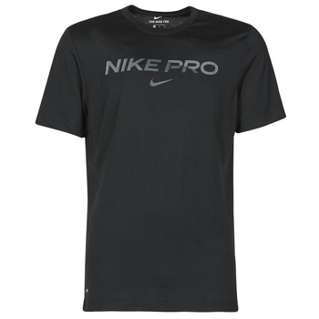 material Men short-sleeved t-shirts Nike DB TEE NIKE PRO Black / Grey
