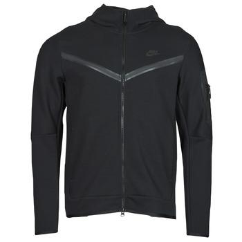 material Men Jackets Nike NSTCH FLC HOODIE FZ WR Black