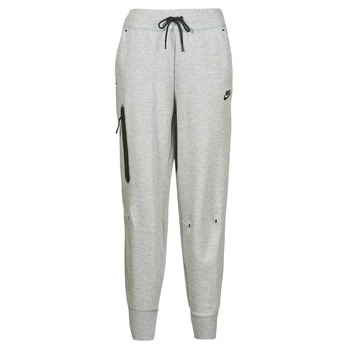 material Women Tracksuit bottoms Nike NSTCH FLC ESSNTL HR PNT Grey / Black