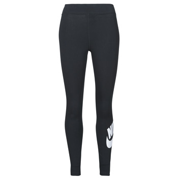 material Women leggings Nike NSESSNTL GX HR LGGNG FTRA Black / White
