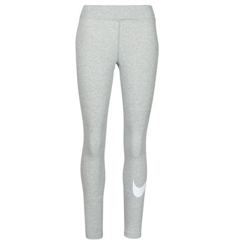 material Women leggings Nike NSESSNTL GX MR LGGNG SWSH Grey / White