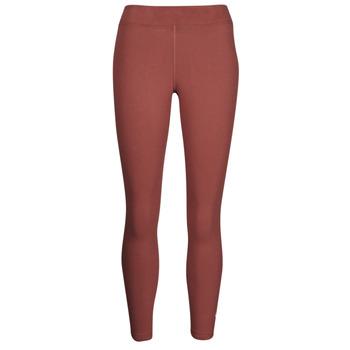 material Women leggings Nike NSESSNTL 7/8 MR LGGNG Brown / White