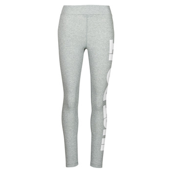 material Women leggings Nike NSESSNTL GX HR LGGNG JDI Grey / White