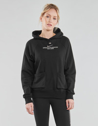 material Women sweaters Nike NSSWSH HOODIE FT Black / White