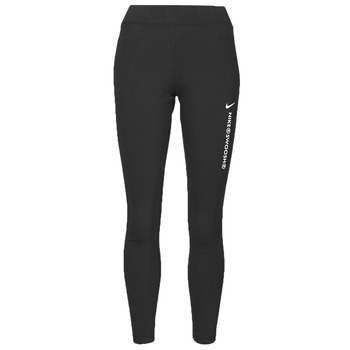 material Women leggings Nike NSSWSH LGGNG HR Black / White