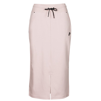 material Women Skirts Nike NSTCH FLC SKIRT Beige / Black