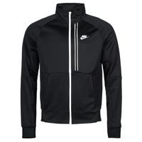 material Men Jackets Nike NSTE N98 PK JKT TRIBUTE Black / White