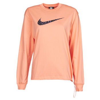 material Women Long sleeved shirts Nike NSICN CLSH LS TOP HBR Pink / Violet