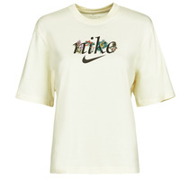 material Women short-sleeved t-shirts Nike NSTEE BOXY NATURE Beige