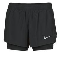material Women Shorts / Bermudas Nike 10K 2IN1 SHORT Black