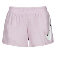 material Women Shorts / Bermudas Nike SWOOSH RUN SHORT Violet / White
