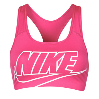 material Women Sport bras Nike DF SWSH FUTURA GX BRA Pink / White