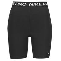 material Women Shorts / Bermudas Nike NIKE PRO 365 SHORT 7IN HI RISE Black / White
