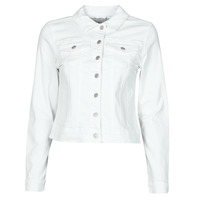 material Women Denim jackets Vila VISHOW White