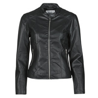 material Women Leather jackets / Imitation leather Vila VIBLUE Black