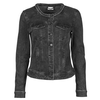 material Women Denim jackets Vila VISASHI Black