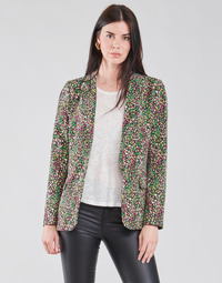 material Women Jackets / Blazers Vila VICLOSER Black / Multicolour