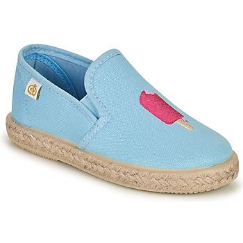 Shoes Girl Ballerinas Citrouille et Compagnie OCELESTE Blue / Sky