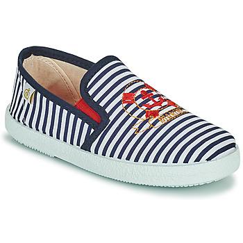Shoes Boy Low top trainers Citrouille et Compagnie OCILO Marine