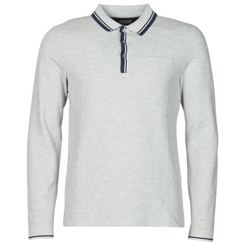 material Men long-sleeved polo shirts Guess STU LS POLO Grey