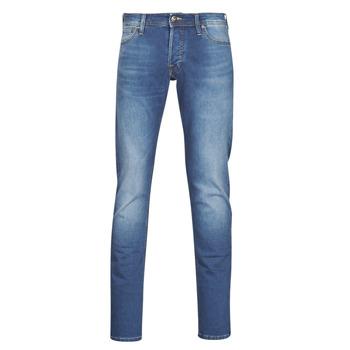 material Men slim jeans Jack & Jones JJIGLENN Blue / Medium