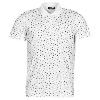 material Men short-sleeved polo shirts Jack & Jones JJMINIMAL White
