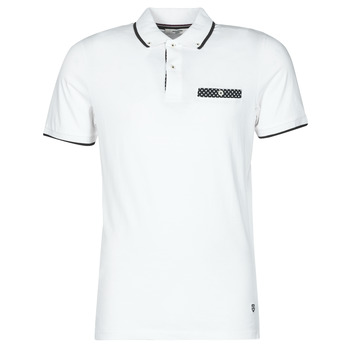 material Men short-sleeved polo shirts Jack & Jones JPRBLABOLTON White