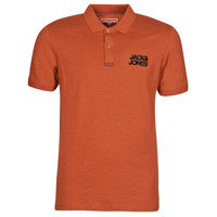 material Men short-sleeved polo shirts Jack & Jones JCOBERG Red