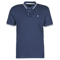 material Men short-sleeved polo shirts Jack & Jones JJEJERSEY Marine