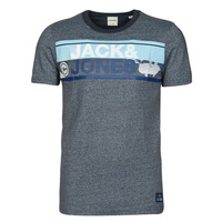 material Men short-sleeved t-shirts Jack & Jones JCONICCO Marine