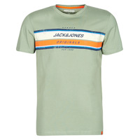 material Men short-sleeved t-shirts Jack & Jones JORTYLER Kaki