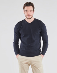 material Men jumpers Jack & Jones JJEBASIC Marine