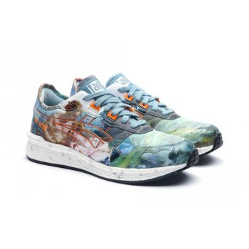 Shoes Low top trainers Asics Asics HyperGEL-LYTE x Vivienne Westwood  LIGHT STEEL/ORANGE