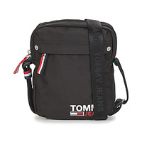 Bags Men Pouches / Clutches Tommy Jeans TJM CAMPUS BOY REPORTER Black