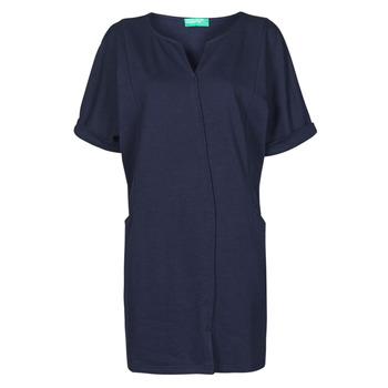material Women Short Dresses Benetton CAMILA Marine