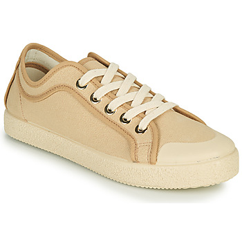 Shoes Women Low top trainers Dream in Green OBRINDILLE Beige