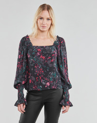 material Women Blouses Vero Moda VMJACKIE Marine / Red