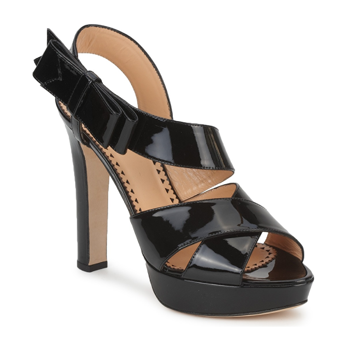 Sandals Moschino Cheap & CHIC MARGHERITA Black