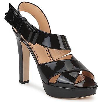 Sandals Moschino Cheap & CHIC MARGHERITA Black 350x350