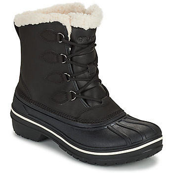 Shoes Women Mid boots Crocs ALL CAST II BOOT W Black