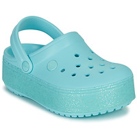 Shoes Girl Clogs Crocs CROCBAND PLATFORM CLOG GS Blue