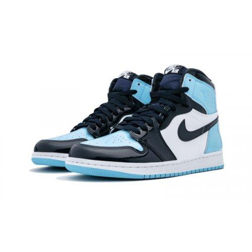 Air Jordan 1 High UNC Patent Leather